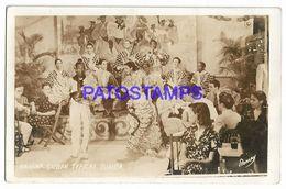 137026 CUBA HABANA COSTUMES TYPICAL RUMBA DANCER POSTAL POSTCARD - Cartes Postales