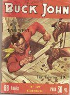 BUCK JOHN N° 129 - Livres, BD, Revues