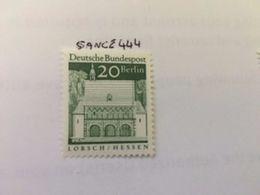 Germany Definitive Buildings 20p  Mnh 1966 - [7] República Federal