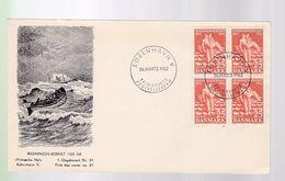 Timbre  Danemark   Danmark  Sur Lettre Cover Année 1952 - Dinamarca