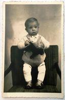 PHOTO  BABY  KID  HORSE TOY - Fotografía