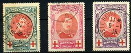Bélgica Nº 132/4 - 1914-1915 Cruz Roja
