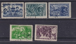 USSR 1943 Michel 860-864 Heroes Of The Soviet Union. Used - 1923-1991 URSS