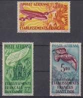 INDE : POSTE AERIENNE SERIE N° 35/37 NEUVE ** GOMME SANS CHARNIERE - India (1892-1954)