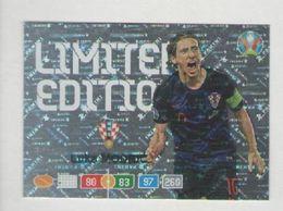 LUKA MODRIC.....CALCIO....ADRENALYN LIMITED EDITION ...MUNDIAL...SOCCER...WORLD CUP....FIFA....FOOTBALL - Tarjetas