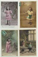 Lot De 25 Cartes Fantaisie Enfant - Cartes Postales