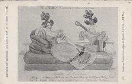 Mode - Femme - Epoque Charles X - Paris 1828 - Magasin Musique Passage De L'Opéra - Editeur ND N° 188 - Mode