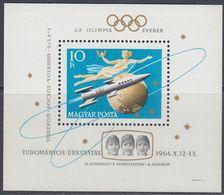 "Hungary 1964 - Start Of The Soviet Space Ship ""Voshod"" - Miniature Sheet Mi Block 33 A (2069A) ** MNH - Raumfahrt"