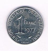 1 FRANC 1977 QUEST AFRICA /5432/ - Monedas