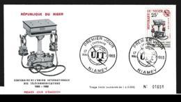 Niger FDC 1965 UIT (G113-55) - Organizations