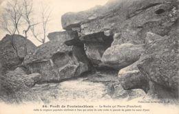 Fontainebleau (77) - Forêt - Franchard - La Roche Qui Pleure - Fontainebleau