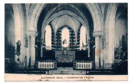 Sainte Croix - Interieur De L'Eglise  - CPA°R - Altri Comuni