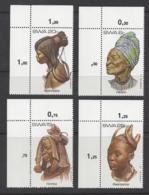 "SOUTH WEST AFRICA...QUEEN ELIZABETH II.(1952-NOW)...."" 1982..""...HEADDRESS....MARGINAL SET OF 4....MNH... - Sonstige"