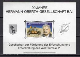 Germany 1972 Space Vignette MNH - Raumfahrt