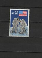 USA 1989 Space Apollo 11 Moon Landing 20th Anniversary Stamp MNH - Raumfahrt