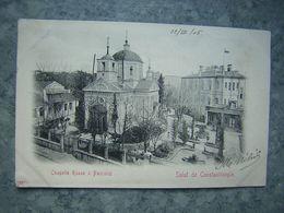 TURQUIE - CONSTANTINOPLE - CHAPELLE RUSSE A PANCALDI - Türkei