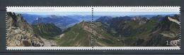 264 - LIECHTENSTEIN 2012 - Yvert 1572/73 - Paysage Montagne Vallee - Neuf ** (MNH) Sans Trace De Charniere - Liechtenstein