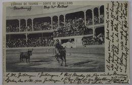 Portugal Stierkampf Corrida De Touros, 1900 Nach Naumburg  - Portugal