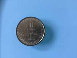 AFARS ET ISSAS - 10  Francs 1970 - Djibouti