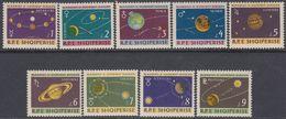 Albania 1964 -  Planets Of The Solar System - Mi 892-900 ** MNH - Raumfahrt