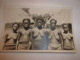 AFRIQUE Cote D Ivoire  A O F . . Ethnique . Scarifications . Collection G.LERAT . N° 86 . Femmes Yacouba.sein Nu - Afrique Du Sud, Est, Ouest