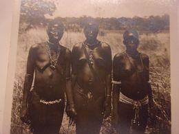 AFRIQUE HAUTE VOLTA  A O F . . Ethnique . Scarifications . Collection G.LERAT . N° 49 . Femmes LOBI  SEINS NUS - Afrique Du Sud, Est, Ouest