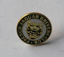 Bel Insigne De Boutonnière French Jaguar Drivers Club Automobile Voiture - Voitures