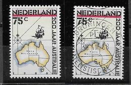 Nederland - 1988 - Yv.1320 - **  En  O -     200 Jaar Australië. - Periodo 1980 - ... (Beatrix)