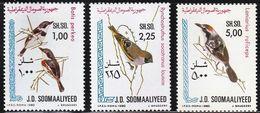 1980 Somalia Songbirds Set And Minisheet (** / MNH / UMM) - Songbirds & Tree Dwellers