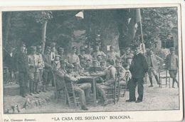 Cartolina - Postcard /  Viaggiata - Sent /  Bologna, La Casa Del Soldato. - Bologna