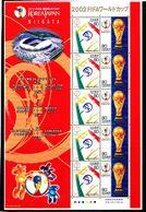 Soccer World Cup 2002 - JAPAN - Sheet MNH NIIGATA - Coupe Du Monde