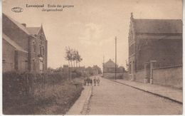 Lpvenjoul - Lovenjoel - Jongensschool - Geanimeerd - Uitg. F. Peeters En Wwe Bruelemans/Préaux - Bierbeek