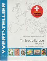 Catálogo Yvert Sellos Europa Vol.5 San Marino A Yugoslavia Año 2016 . - Cataloghi