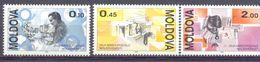 1994. Moldova, Day Of Postage Stamp, 3v, Mint/** - Moldawien (Moldau)