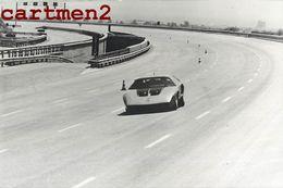 COURSE AUTOMOBILE MERCEDES-BENZ C111 RECORD MONDIAL DE VITESSE CAR CIRCUIT - Automobili