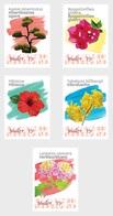 M ++ CARIBISCH NEDERLAND BONAIRE 2020 BLOEMEN FLOWERS FLEUR BLUMEN  ++ MNH POSTFRIS - Curaçao, Antilles Neérlandaises, Aruba