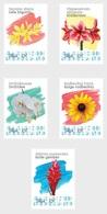 M ++ CARIBISCH NEDERLAND SABA 2020 BLOEMEN FLOWERS FLEUR BLUMEN  ++ MNH POSTFRIS - Curaçao, Antilles Neérlandaises, Aruba