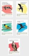 M ++ CARIBISCH NEDERLAND SABA 2020 VOGELS BIRDS OISEAUX  ++ MNH POSTFRIS - Curaçao, Antilles Neérlandaises, Aruba