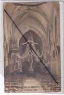 Suippes (51) Fête De Jeanne D'Arc 10 Octobre 1909 - Carte Photo -intérieur De L'Eglise - France