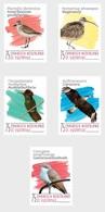 M ++ CARIBISCH NEDERLAND ST EUSTATIUS 2020 VOGELS BIRDS OISEAUX  ++ MNH POSTFRIS - Curaçao, Antilles Neérlandaises, Aruba