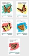 M ++ CARIBISCH NEDERLAND BONAIRE 2020 VLINDERS BUTTERFLIES PAPILLON SCHMETTERLING  ++ MNH POSTFRIS - Curaçao, Antilles Neérlandaises, Aruba