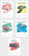 M ++ CARIBISCH NEDERLAND BONAIRE 2020 SEALIFE ONDERWATER FISH VISSEN POISSSON  ++ MNH POSTFRIS - Curaçao, Antilles Neérlandaises, Aruba