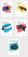 M ++ CARIBISCH NEDERLAND SABA 2020 SEALIFE ONDERWATER FISH VISSEN POISSSON  ++ MNH POSTFRIS - Curaçao, Antilles Neérlandaises, Aruba