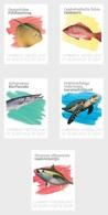 M ++ CARIBISCH NEDERLAND ST EUSTATIUS 2020 SEALIFE ONDERWATER FISH VISSEN POISSSON  ++ MNH POSTFRIS - Curaçao, Antilles Neérlandaises, Aruba