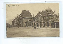 Manage La Gare ( Cachet Louise Floris Au Dos De La CP ) - Manage