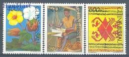 Gwinea Bissau 1991 Mi 1122-1124 MNH ( ZS5 GUB1122-1124dav14Ca ) - Jobs
