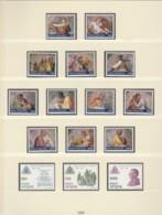 VATIKAN  Jahrgang 1991, Postfrisch **,  Komplett 1023-1050 - Vatican