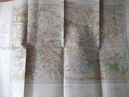 Carte 1/200000 - Châteauroux - édition Spéciale Allemande - 1935 - Topographical Maps