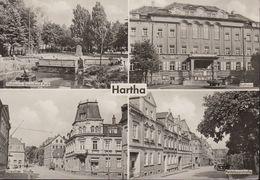 D-04746 Hartha - Kurort - Alte Ansichten - Gebäude & Straßen - Hartha