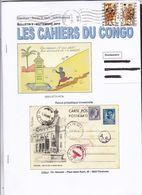 LES CAHIERS DU CONGO Revue En Couleur Septembre 2013 Par Hennuzet - Filatelia E Storia Postale
